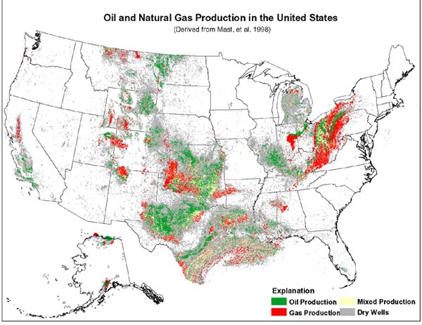 Us Natural Gas Reserves Map
