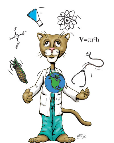 Science Lion