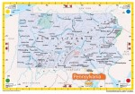 National Geographic State of Pennsylvania Map