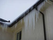 Icicles - representing the cryosphere in southeastern PA