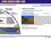 Digital Library for Earth System Education Web Site