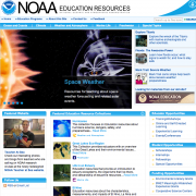 National Oceanic and Atmospheric Administration (NOAA) Education Resources Web Site